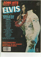 SONG HITS MAGAZINE'S TRIBUTE TO ELVIS PRESLEY PHOTOS A FAN REMEMBERS CANDID 1977
