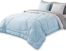 Kasentex 5 Piece Bed in A Bag Premium Brushed Microfiber Comforter Bedding Set –