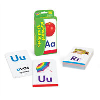 Kids Alphabet ABC Flash Cards - (EN SP) 52 Cards & 4 Activity - Fun Learning
