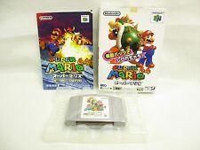 SUPER MARIO 64 Rumble Pak Version Item REF/ccc Nintendo 64 JAPAN Game n6