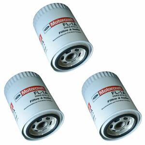 Motorcraft FL1A Engine Oil Filter Kit Set of 3 for Ford Lincoln Mercury New