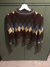 Zara Diamond Knitwear/Sweater Size M