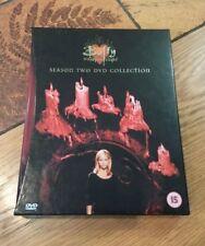 Buffy The Vampire Slayer Season 2 Collector's Edition DVD Boxset, VGC RARE