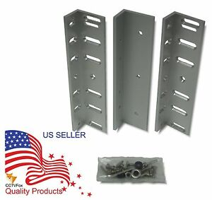 LZ Bracket for 600 LBS Electromagnetic Lock 1PCS