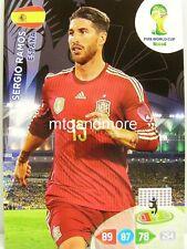 Adrenalyn XL - Sergio Ramos - Spanien - Fifa World Cup Brazil 2014 WM