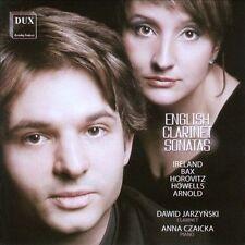 English Clarinet Sonatas - Dawid Jarzyns, New Music