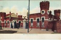 Antique POSTCARD c1910 Navy Yard BROOKLYN, NY NEW YORK NYC Langsdorf