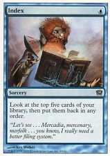 Index - complete your collection! | EX | 9th | Magic MTG