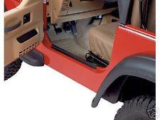 Jeep Wrangler YJ BLACK ENTRY GUARDS FOR 76 to 95 CJ7 7616