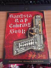 Gangsta Rap Coloring Book By Aye Jay Moreno Paperback 2004
