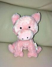 Oficial Coleccionable Keel Toys camuesas rizado el cerdo de juguete suave Beanie