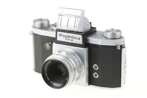 PRAKTICA FX 2 mit Tessar 50mm f/2,8 - SNr: 033311