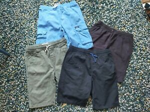BOYS 4 X SHORTS AGE 11 BUNDLE JOULES MANTARAY F+F DENIM CO