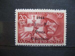 1944 Rumänien - Ungarn-Posta-Odorheiu 20+40/1