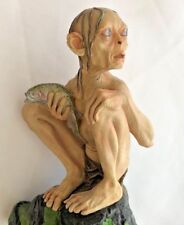 """Lord of the Rings 7"""" Two Towers Smeagol Gollum Figurine Sideshow Weta"""