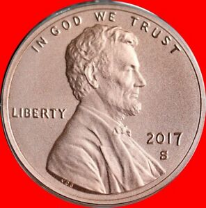 2017 S Union Cent Enhanced Uncirculated Gem Bu In Stock Free Shipping