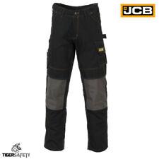 Pantalones de hombre negras negros, talla 42