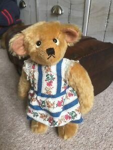 """Ooak artist mohair bear - Molly - Rare Bears - 10"""""""