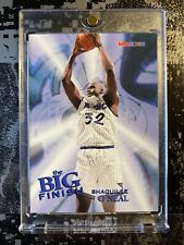 🔥🏀Shaquille O'Neal The Big Finish 1995-96 NBA Hoops #183