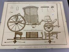 dessin du 18eme (sous verre)  signé renard fécit -  LOT 4