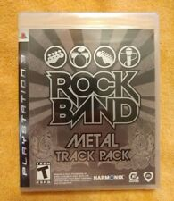 Rock Band: Metal Track Pack (Sony PlayStation 3 PS3) New Sealed - SHIPS FAST!