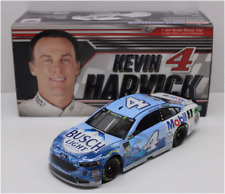 New Nascar 2018 Kevin Harvick # 4 Busch Light Beer Mobil One 1/24 Diecast Car