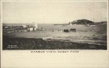 Onset Cape Cod MA Harbor View c1905 Albertype Postcard