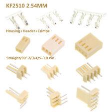 Kf2510 254mm Connector Sets Housingheadercrimps Straight90 234510 Pin