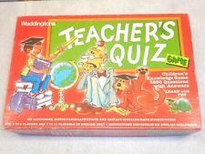 Waddingtons Teacher's Quiz Game~Home School Fun & Learning