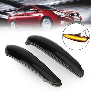 Side Mirror Lamp Turn Signal Light For Hyundai Sonata MK8 2011-2015 #A TN