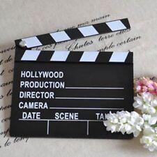 Wooden Prop Tool Scene Board Film Cut Clapperboard Movie
