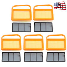 Pack Of 5 Air Filter Set For Stihl Ts410 Ts420 4238 140 4402