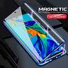 360° Magnétique coque Pour Huawei Honor V30 Pro 20 Lite 10 9X étui verre trempé