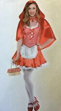 Miss Red Riding Hood Costume Junior Size Small (3-5)