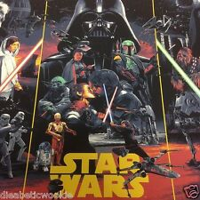 Gabz Star Wars Original Trilogy Movie Art print poster Bottleneck Gallery Mondo
