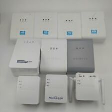 Lot of Netgear Powerline Ethernet Adapters and Wifi Range Extender (10 units)