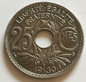 25 Centimes Lindauer 1930 N5