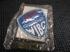 Old Vtg Women's Bowling Embroidered Patch WIBC League Champion 1975-1976 Badge