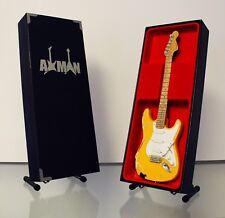 Yngwie Malmsteen: Fender Stratocaster - Guitar Miniature (UK Seller)