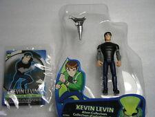 """Ben 10 TEN TENNYSON ALIEN FORCE 4""""/10cm Action Figures Kevin Levin new loose"""