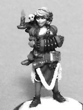CAROL CHRISTMAS BARD - PATHFINDER REAPER miniature jdr rpg d&d 01578 OOP