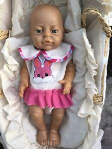 "16"" Vinyl Peterkin Dressed Baby Girl Doll, Anatomically Correct, Realistic,"