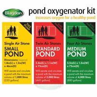 Blagdon Pond Oxygenator Air Stones Complete Aeration Kits 1 2 3 Fish Pond