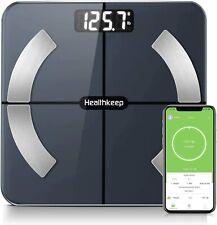 Digital Wireless smart scale bathroom scale weight scale body fat scale 396 lbs
