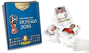 Panini WM 2018 50 Sticker aus fast allen aussuchen choose World Cup 18 McDonalds