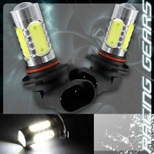 2x 9005 HB3 White 9 LED 11w Projector Daytime DRL High Low Beam Headlight Bulb