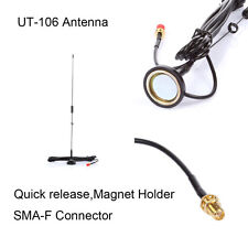 Nagoya UT106 SMA-F Connector Dual Band Mobile Radio 2M/70CM Antenna Good Quality