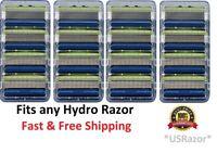 16 Schick Hydro5 Sensitive Razor Blades fit Hydro 5 Power Refill Cartridges 4 8
