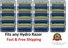 *16 Schick Hydro5 Sensitive Razor Blades fit Hydro 5 Power Refill Cartridges 4 8