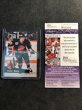 1991-92 UPPER DECK PRO SET PAVEL BURE ROOKIE SIGNED AUTO CARD JSA COA #564